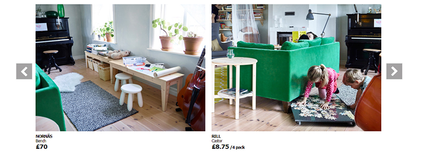 Ikea related products example