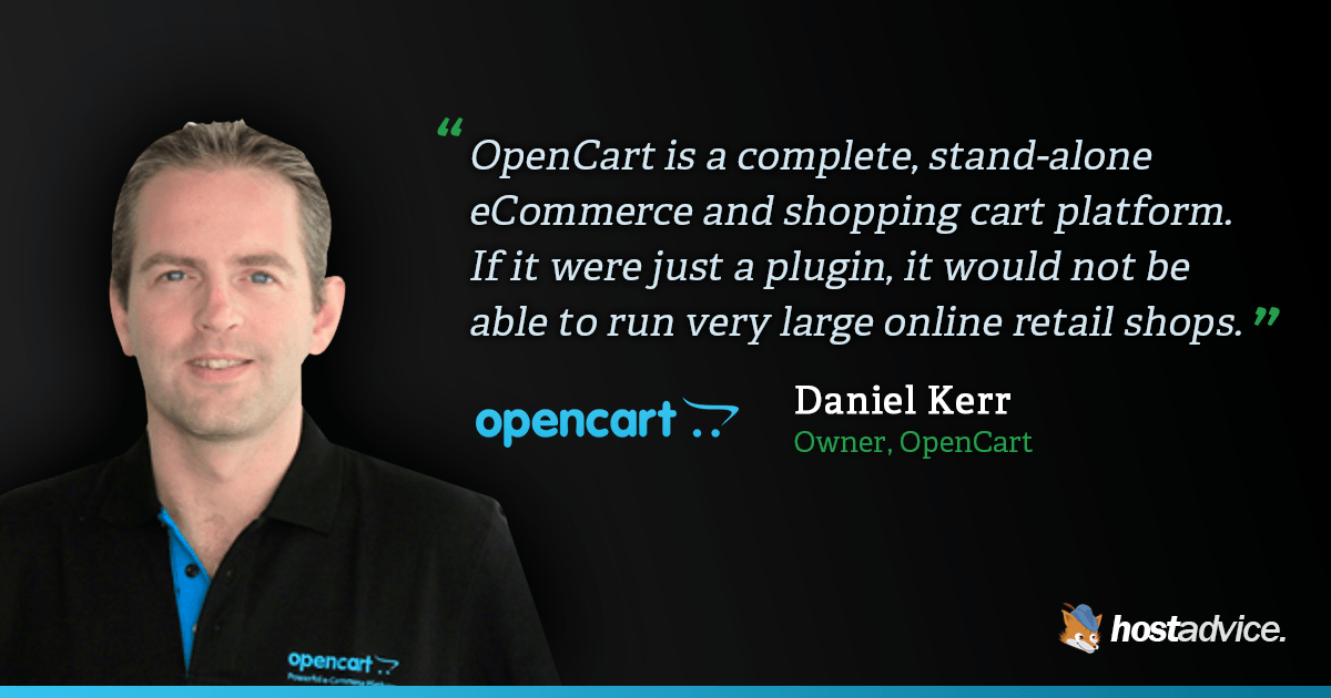 OpenCart – Your Own Complete, Stand-Alone eCommerce and Shopping Cart Platform.