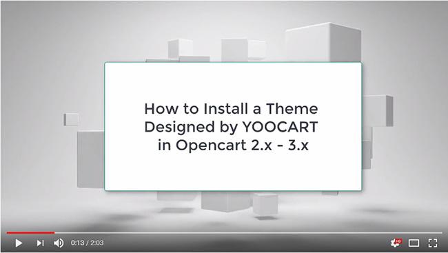 OpenCart - Yoodream - Free Opencart Theme