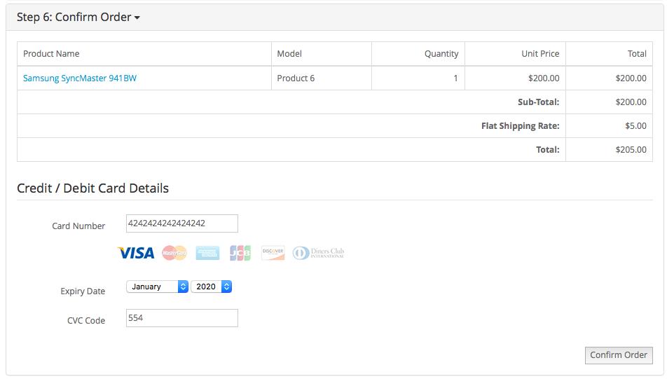 OpenCart - (1 x-3 x) Stripe Payment Gateway (3D Secure, SCA