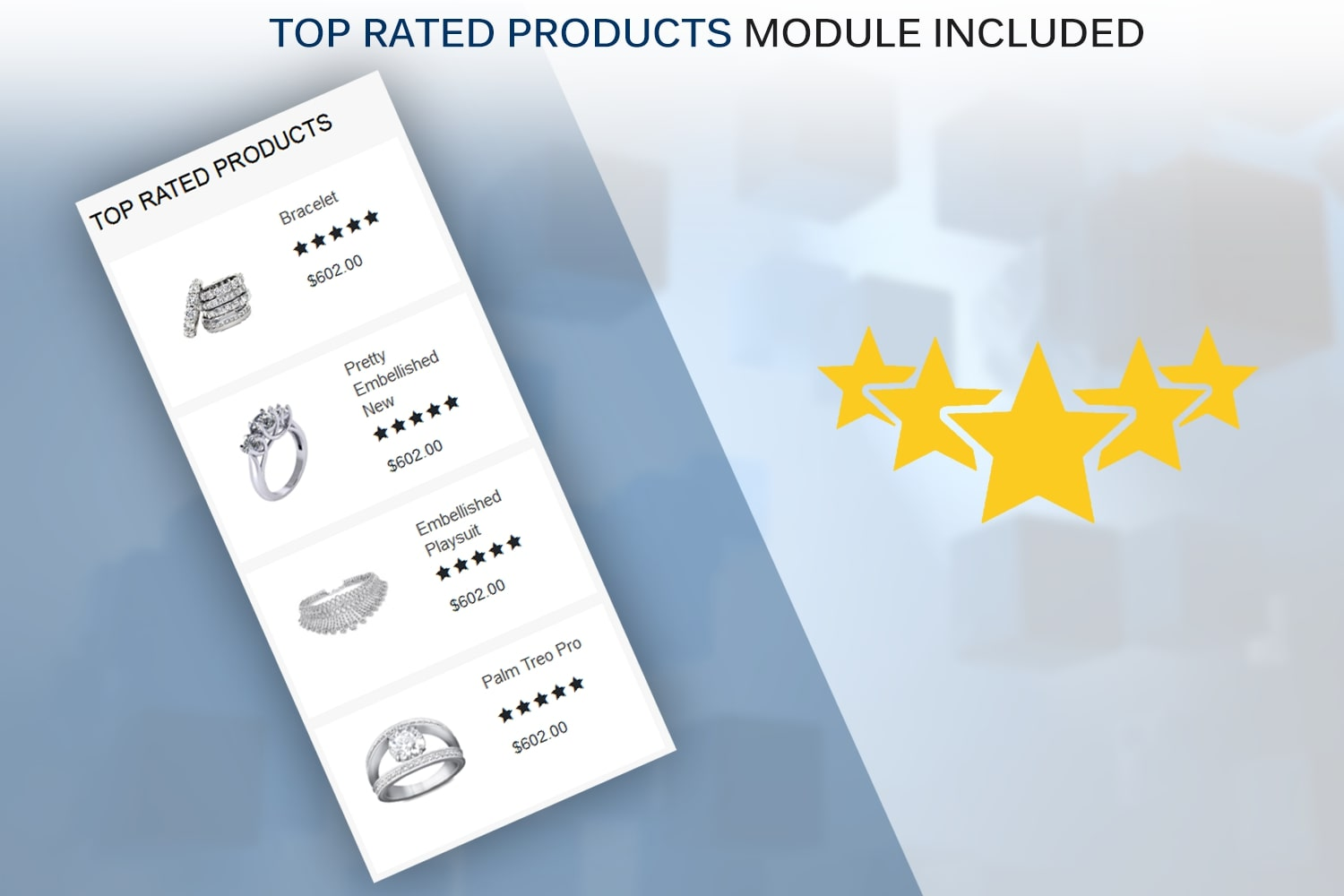 Top Rated Module Included