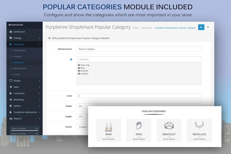 Popular Category Module
