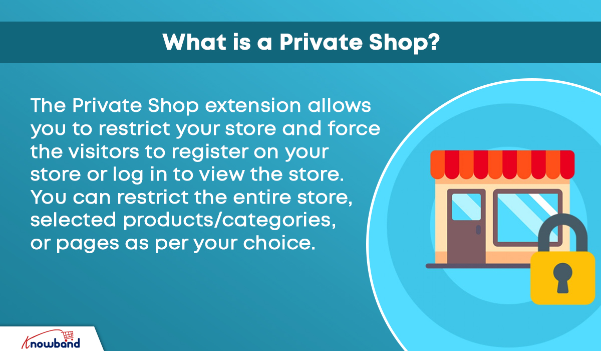 Opencart Private shop